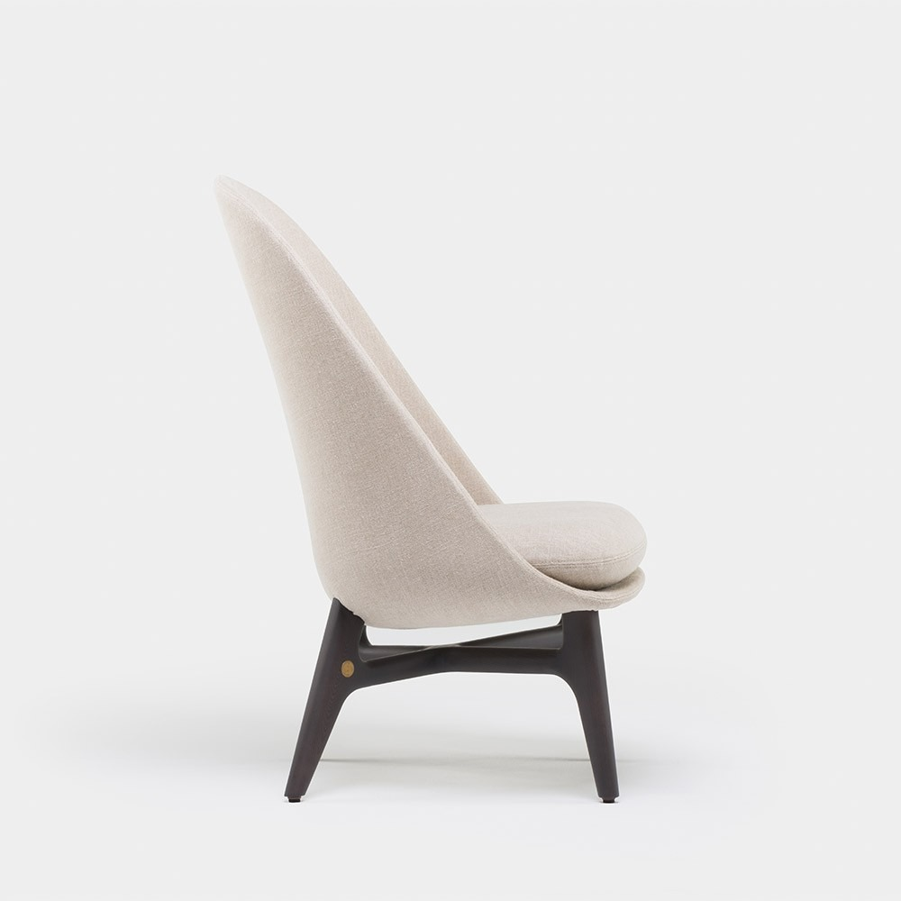 Wood solo lounge chair