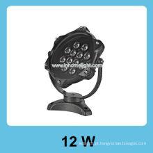 120V 12W IP 68 luz led subaquática