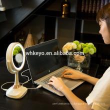 2017 новинок музыкальной макияж Bluetooth светодиодные зеркала с динамиком