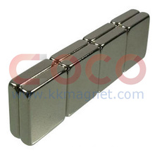 NdFeB Permanent Block Magnet with ISO/Ts 16949