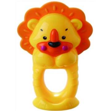 Kanak-kanak Bathing Ring Toy Lion Teether Bell Toy