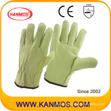 Venta de cerdo Split + grano de seguridad industrial guantes de trabajo conductor caliente (22206)