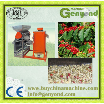 Máquina de pelar el grano de café verde
