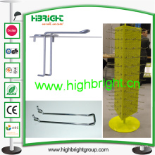 Metal / Hierro Euro Pegboard Hook Doble alambres