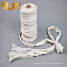 2017 high quality of pp cable fibrillated yarn, pp fibrillated filler yarn