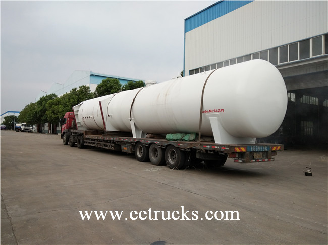 Bulk LPG Storage Tanks