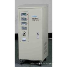 Estabilizador de voltaje de CA de alta precisión de alta precisión de fase triple SVC-9k