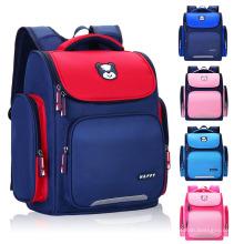 Heavy Duty Zipper Closure Preppy School Backpacks Lightweight 3D Cute Kids Bookbags School Bag with Roomy Side Pockets