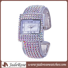 Moda Feminina Pulseira Relógio Requintado Diamante Relógios