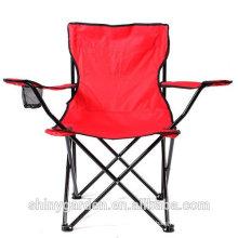 Asiento plegable de la silla de la pesca del acampada de la playa que acampa al aire libre, con el bolso de la carga, con el portavasos