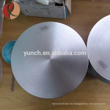 Precio de titanio por kilogramo de alta pureza 99.99% 99.8% Recubrimiento de Pvd Blanco redondo de titanio