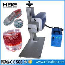 पोर्टेबल Co2 लेजर उकेरक ग्लास नक़्क़ाशी उपकरण सिस्टम