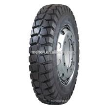 pneu do caminhão viés 8.25-16 bloco padrão profundo 25mm preço barato