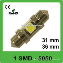 31-миллиметровый фестон 1 светодиодная лампа автомобиля SMD 12V