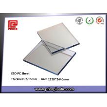 Kunststoff-Polycarbonat-Platte mit statisch-dissipativer Beschichtung