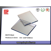Plastic Polycarbonate Sheet with Static-Dissipative Coating