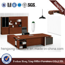 Fashion Melamine L Shape Executive Office Desk (HX-5DE035)