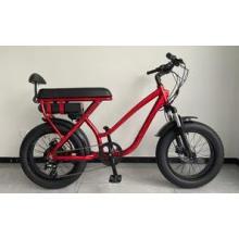 New Design Fat Tire Bike 20 Inch Disc Brake Shimano 7 Speed Lady Fat Electric Bike