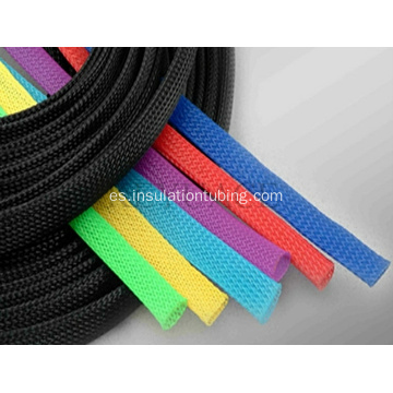 Mangas trenzadas expandibles de nylon flexible
