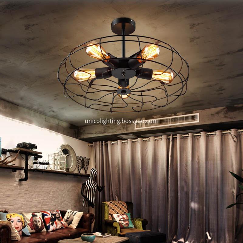Applicantion Fan Light