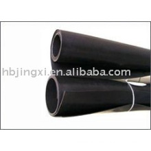 black epdm heat proof rubber sheet 5mm thickness
