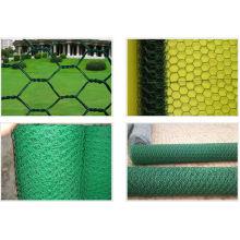 PVC Heated Hexagonal Wire Mes en diferentes colores