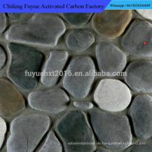 2-32cm unterschiedlicher Farbkieselstein-Kopfsteinpflaster