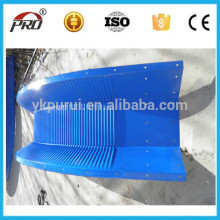 Manufacture Screw Jointed Arch Roof Color Steel Sheet as required span