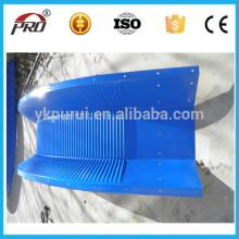 Fabricação de parafusos articulados Telha de aço de cor do telhado como intervalo requerido