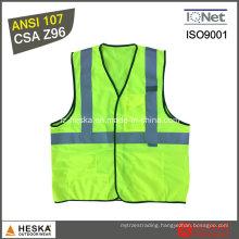 ANSI107 Class 2 Reflective Work Safety Vest
