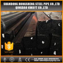 Q195-Q235 schwarz geglühtes quadratisches Stahlrohr