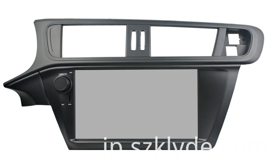 Android 7.1 System Car Audio For Citroen C3 2005-2011