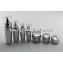 15ml 30ml 50ml Double Wall Acrylic Cosmetic Cream Jar And Bottle