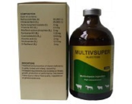Vétérinaire Multivitamines Injection