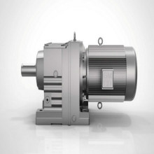 Inline Gearmotor Reduction For Drum Cement Mortar Mixing