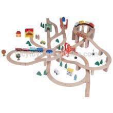 Buche Wooden Railway Sleepers Classic Spiel Zug Eisenbahn Spielzeug Set