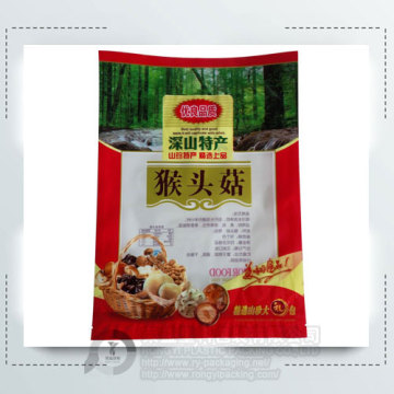 Printing Mushroom Three Side Sealing Bag