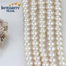 Süßwasser-Perlen-Strang AA- 12mm Edison weißer lose Perlen-Strang