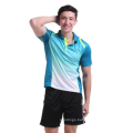 High Quality Custom Youth Badminton Jersey Uniform Shirt