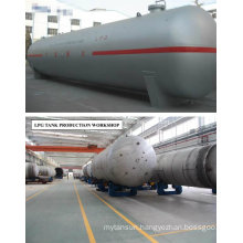 128m3 Storage Tanks for The Storage of Liquid Gas of Propane (GLP)