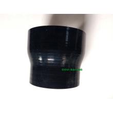 Réducteur de silicone noir Tube flexible 63-76mm 2.5 '' - 3 '' Neck Universal Turbo