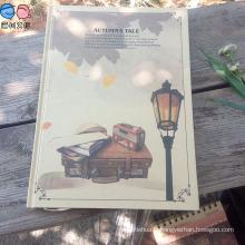 Factory Supply A4 Kraftpaper Hardcover Notebook