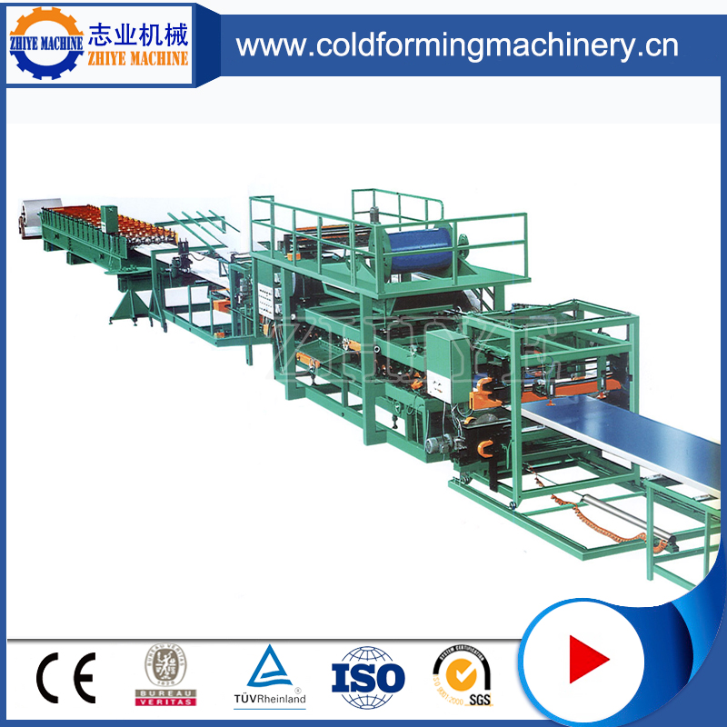 Environmentally Sandwich Panel Cold Roll Forming Machine