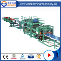 Roof sandwich panel roll forming machine