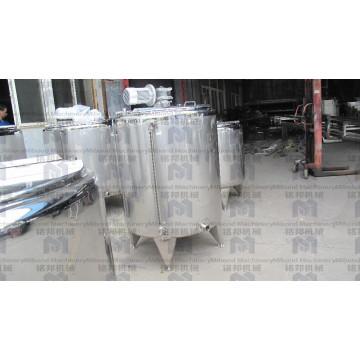 50L-1000L Acero inoxidable industrial Pequeña calefacción de chocolate / Fusión / Templado Máquina del tanque para la venta