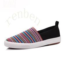 Nouvelle vente chaussures femme chaussures en toile occasionnels