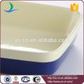 De buena calidad rectangular azul oscuro de cerámica bakeware para el hogar