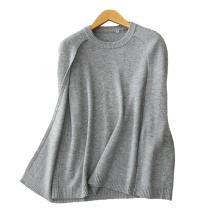 Frauen 2017 mode-design sleeveless fleece pullover rundhalsausschnitt 100% kaschmir strickpullover
