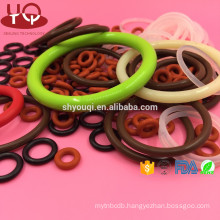 High quality piston ring NBR O ring Silicone Rubber O-Ring seals colored oring sealing repair kit