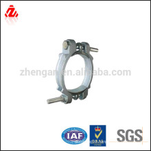 High strength steel clamp bolt and nut